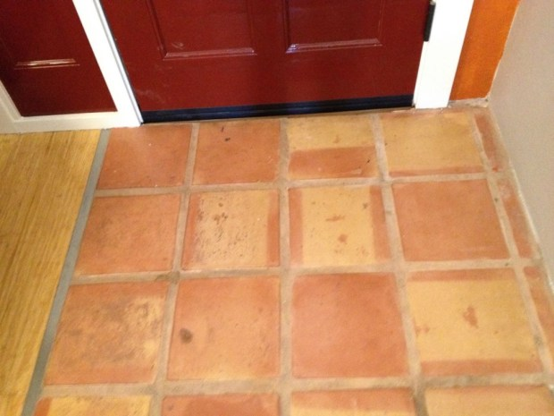 cleaned-grout