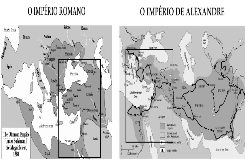 Imperio Romano e Imperio de Alexandre