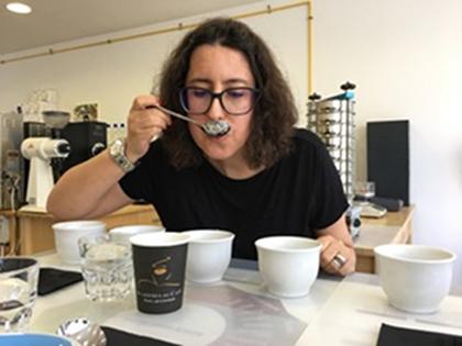 SandraAzevedo08 - Grão Especial had a quick chat with the founder of the Academia do Café, from Lisbon, Sandra Azevedo