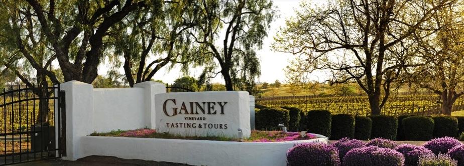 Gainey Vineyard entrance