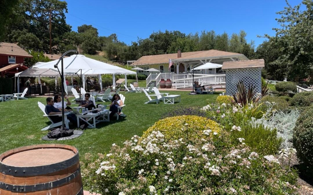 Where To Wine Taste In Santa Barbara County: LINCOURT VINEYARDS, Solvang, California