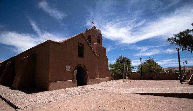 Church in San Pedro_
