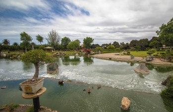 Japanese garden in La Serena