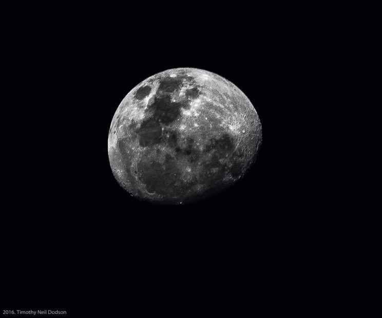 Moon from Salar de Atacama