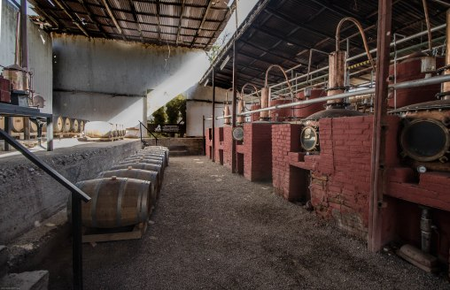 Pisco distillery Aba_
