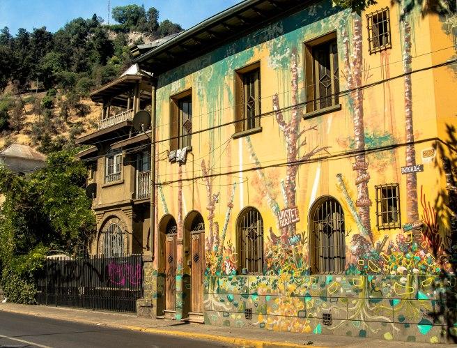 Street art in Santiago