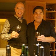 A thrill and most enjoyable day with Michael Mondavi