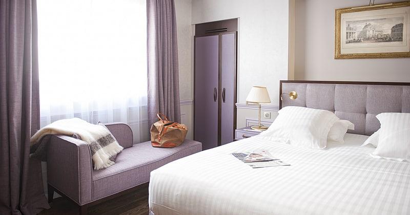 Hotel de Seze Chambre - Credits Hotel de Seze