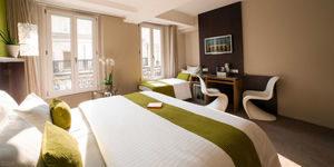 Beausejour Montmartre bedroom