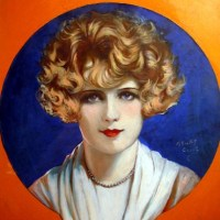 Portrait of Pauline Garon Silent Movie star
