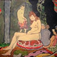 Art Deco Nude Harem Scene
