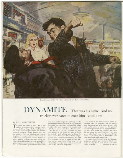 The work as it appears in Saturday Evening Post