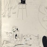 Political Great Depression Brinkley Girl Illustration