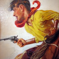 Lariat Stories Western Pulp Cover