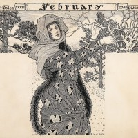 Art Nouveau Maiden in February