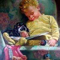 Sleeping Child With Crib Toy