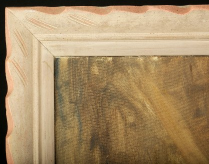 Corner detail frame profile