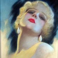 Jean Harlow Glamour Pastel