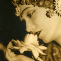 Gilda Gray in Sepia