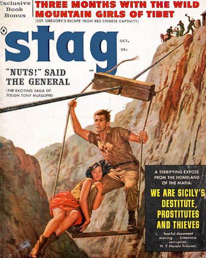 Stag Magazine - October, 1960 (included in sale)