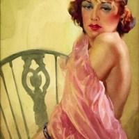A 1930s Flapper Girl