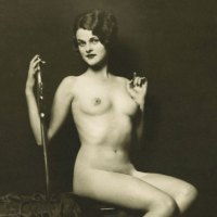 A Nude Ziegfeld Follies Beauty
