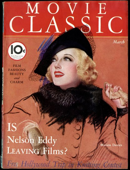 Movie Classic Magazine - March, 1936 (included in sale)