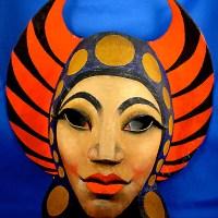 An Orientalist Avant-garde Mask