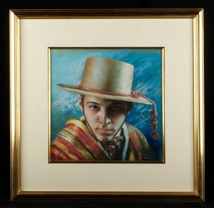 Framed in 22 carat gold leaf fine gallery frame