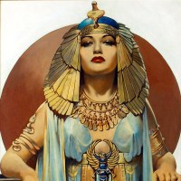Pin Up Girls of History-Cleopatra