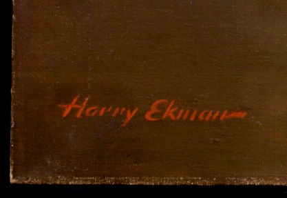 The artists signature lower left
