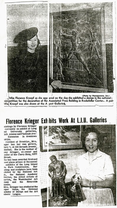 Press clipping on the artists
