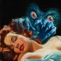 Alien Menace Pulp Cover