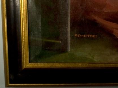 Frame corner profile detail