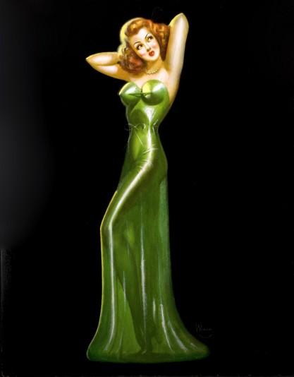 Gilda as seen by Irv Weiner.