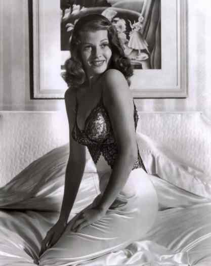 Hayworth photographed by Bob Landry in 1941