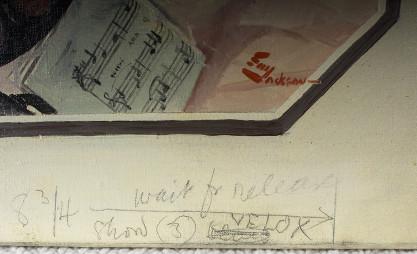 Lower right publication markings
