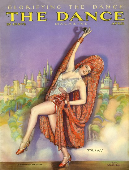 The Dance Magazine - April, 1928 (included in sale)