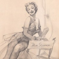 Miss Sylvania-Preliminary Drawing