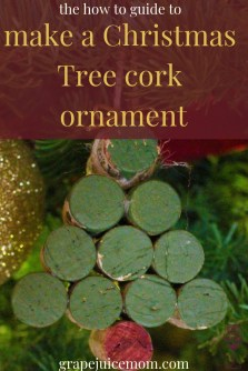 How to cork tree ornament