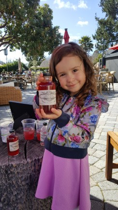 Folktale Winery also produces this fabulous non-alcoholic, organic grape juice made from the Sangiovese grapes on site! The kids loved it! It tasted comparable to a delicious cran-apple juice.