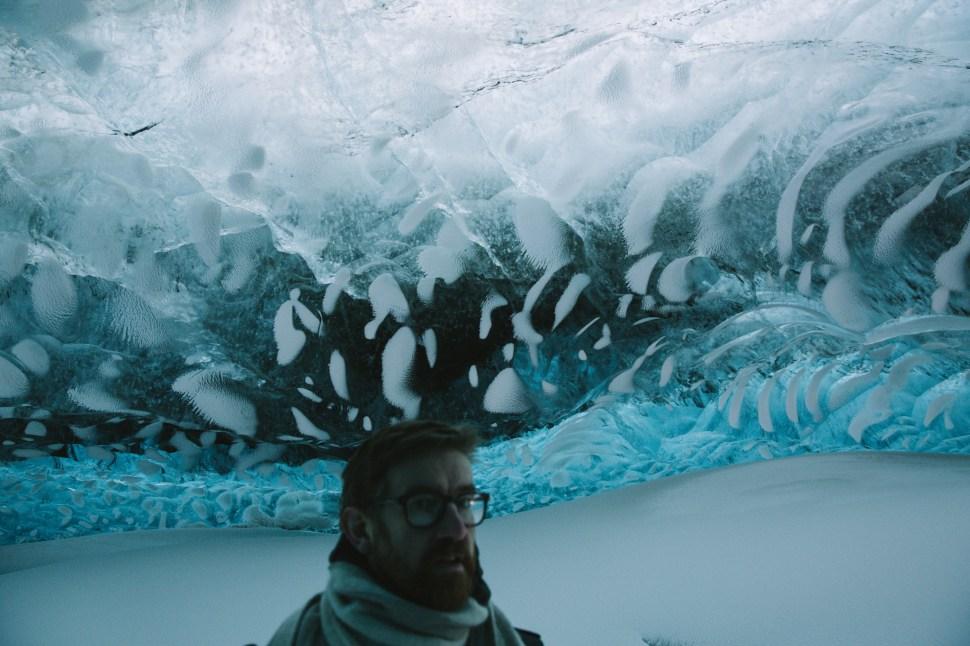 John & the glacier ceiling