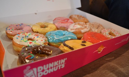 First 50 Visitors To Dunkin' Donuts Get Free Year Of Donuts