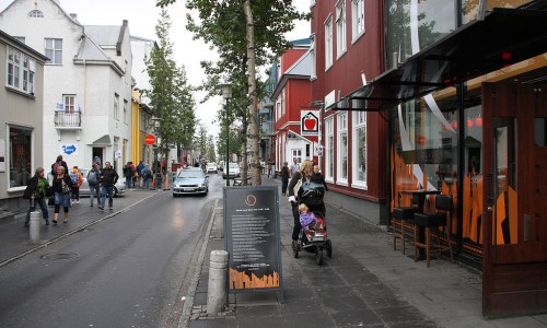 Reykjavik's Main Street May Become Car-Free All Year Round