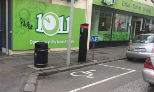 Epic Disabled Parking Space Fail