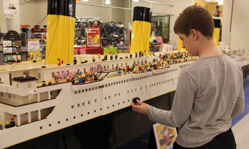 The Challenges Of That Icelandic Boy Who Built A Lego Titanic