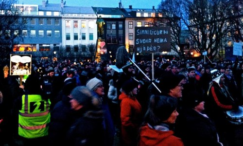 Protest Calls For Resignation Of Government