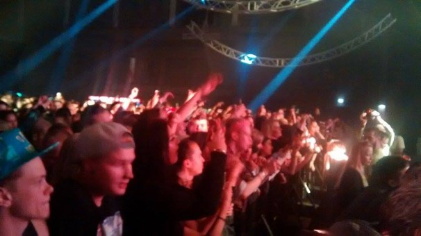 crowd at snoopadelic