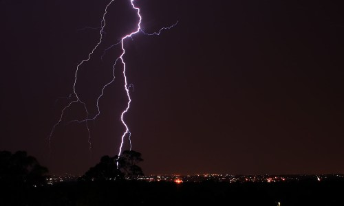 Lightning Expected In Forecast Today, Rain Rest Of Week