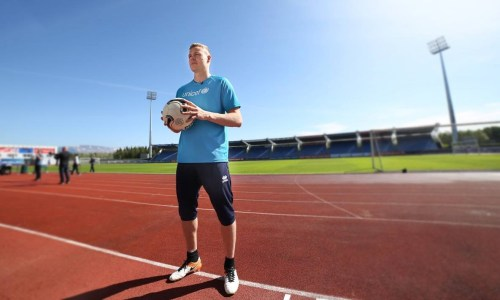 Iceland's Football Team Drumming Up Support For UNICEF